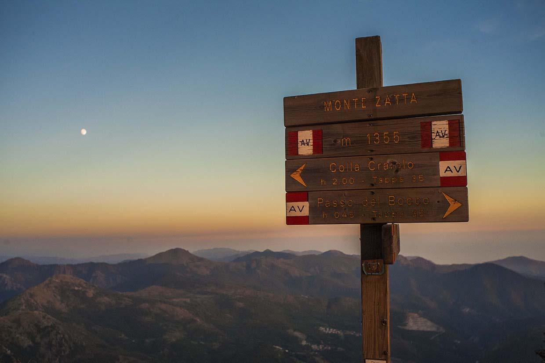Monte Zatta view from Semovigo