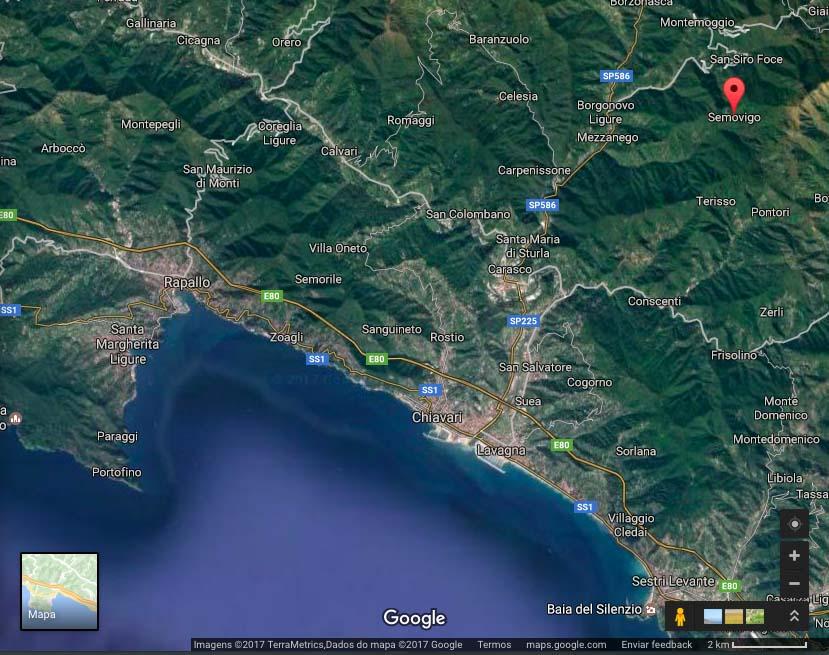 Semovigo Screen Shot of Google Maps