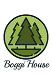 Boggi House logo Contact page